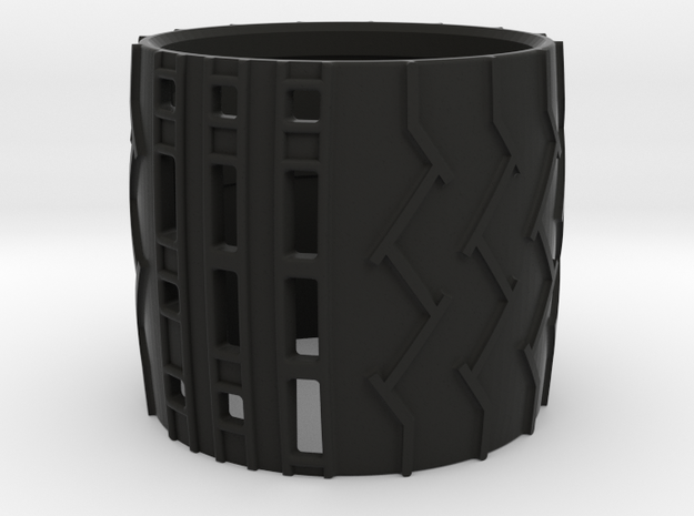 1:9 Mars Rover Tire in Black Strong & Flexible