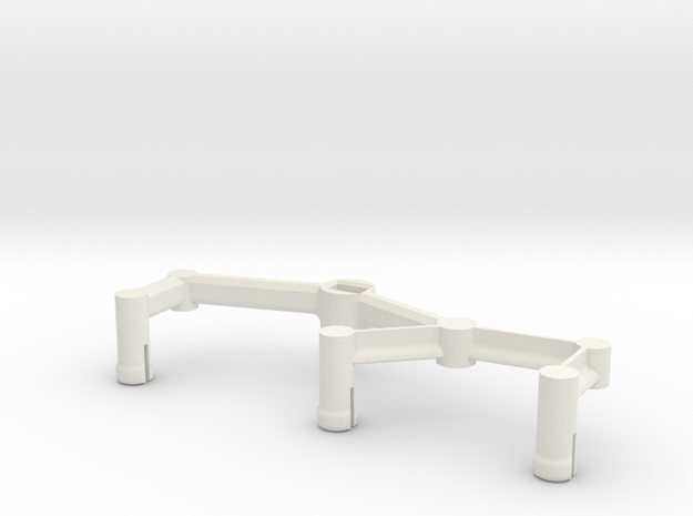 1:24 Mars Rover Legs-right in White Strong & Flexible
