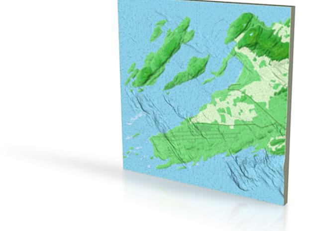 Terrafab generated model 3d printed