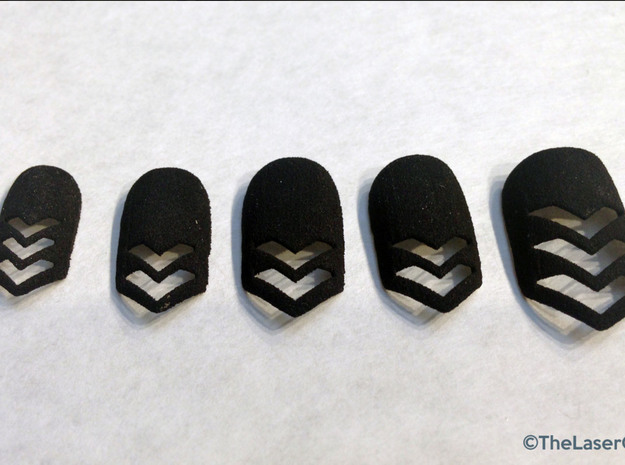 Chevron Nails (Size 0)