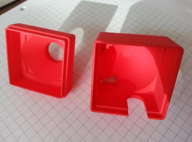RMRC Camera Housing V2 - Back 3d printed Housing front and back (v1)
