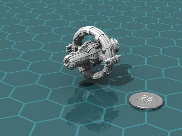Jovian Europa class Command Carrier in White Natural Versatile Plastic