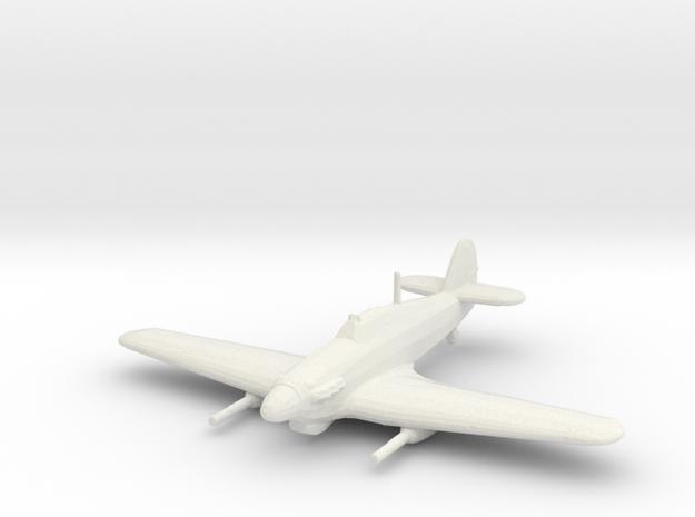 Hawker Hurricane Mk.IV w/ Vickers S in White Natural Versatile Plastic: 1:200