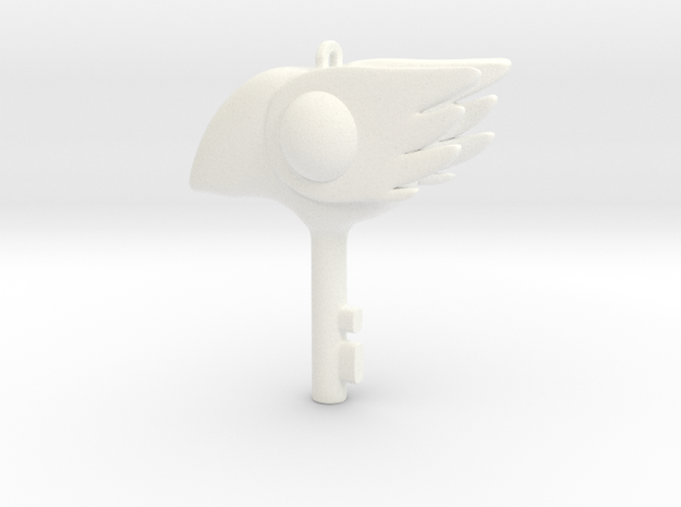 Cosplay Sakura Clow key bird 3d printed
