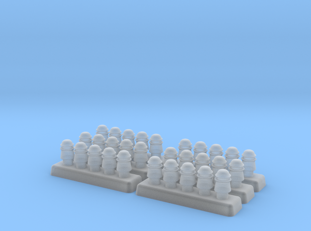 1/35 Powerline Insulators - Set of 30 in Smoothest Fine Detail Plastic