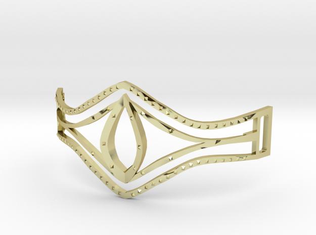 Eye Of Pharaoh Bracelet in 18k Gold Plated Brass