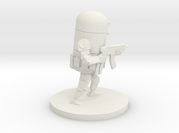 Retro Robot Rifle Pose A