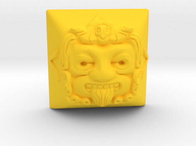 Tonatiuh (Topre DSA) in Yellow Strong & Flexible Polished