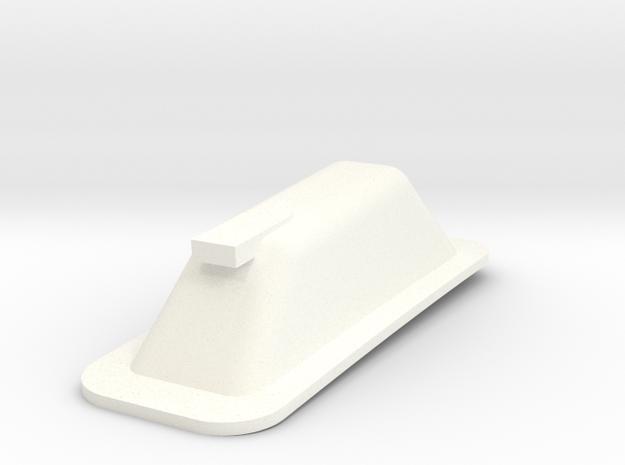 Bozzo in White Processed Versatile Plastic