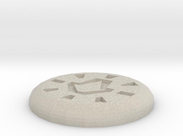 Body Rune in Sandstone