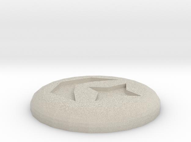 Cosmic Rune in Sandstone