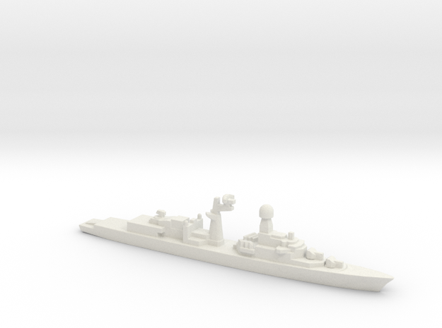 Tourville-class frigate (Early Proposal), 1/3000 in White Natural Versatile Plastic