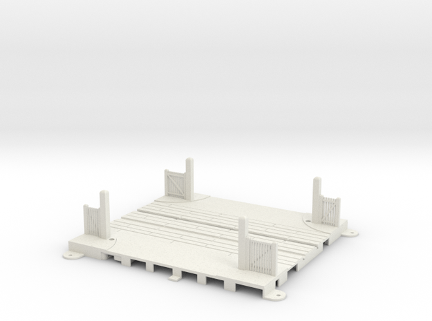 L-165-sing-level-crossing-type4a-1 in White Natural Versatile Plastic