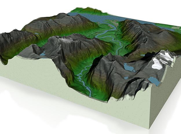 Terrafab generated model Fri Sep 27 2013 04:01:33 3d printed