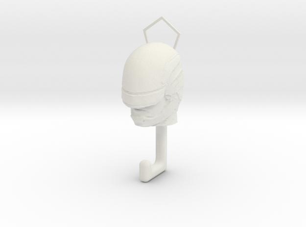 Robocap hook in White Natural Versatile Plastic