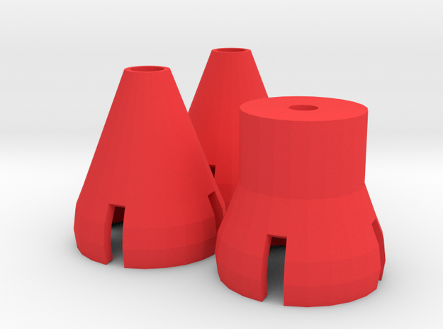 Gorilla Hands - Cones and Post in Red Processed Versatile Plastic