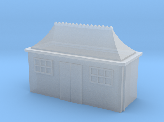 (1:450) GWR Pagoda Waiting Room in Smooth Fine Detail Plastic