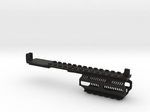 R2245 -FULLRail MK4b RMR in Black Natural Versatile Plastic