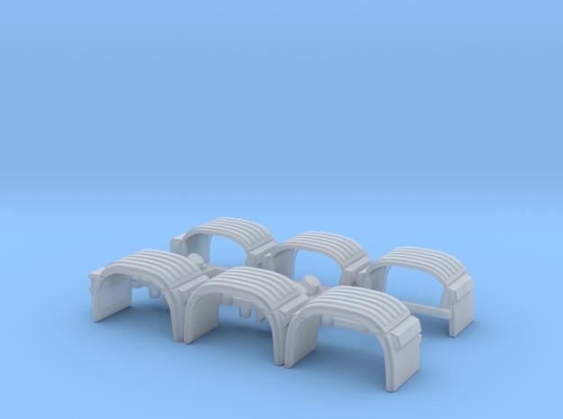 1/87 Scan. 8x4 Kotflügel in Smooth Fine Detail Plastic