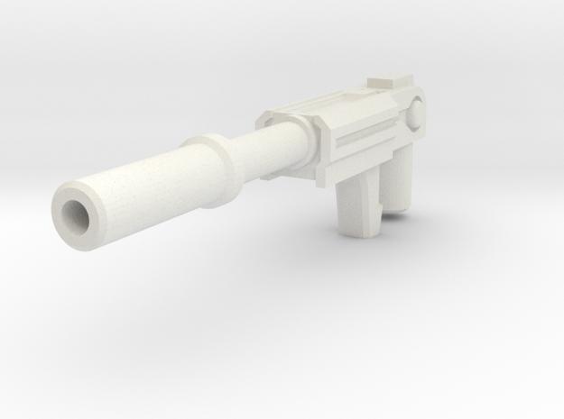 Combiner Wars Powerglide weapon in White Natural Versatile Plastic