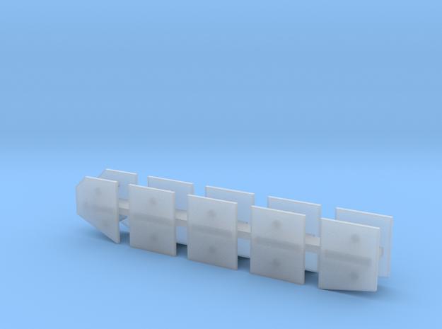 1/144 Stug III G / StuG IV Schurzen set MSP44-001 in Smooth Fine Detail Plastic