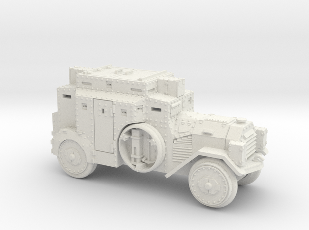SdKfz3 (15mm) in White Natural Versatile Plastic