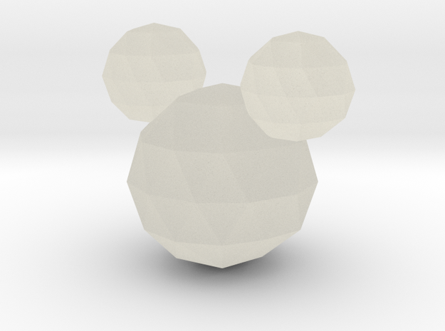Crystal Mickey in Transparent Acrylic