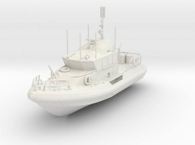 1/96 Response Boat- Medium in White Natural Versatile Plastic