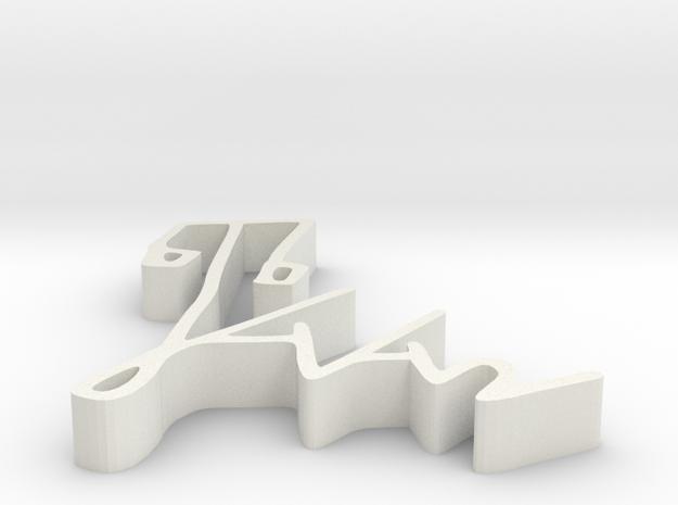 000442 :  Signature of al-Quran verses numbers in White Natural Versatile Plastic