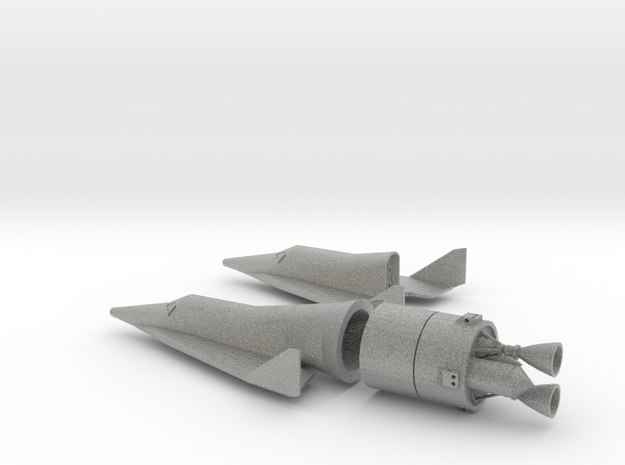 1/144 BOEING X-20 DYNA SOAR SPACE PLANE 3d printed