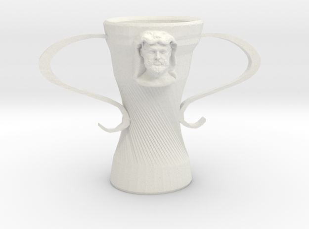 Hercules cup in White Strong & Flexible