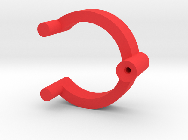 Collector Pins Magnet Adapter Single in Red Strong & Flexible Polished