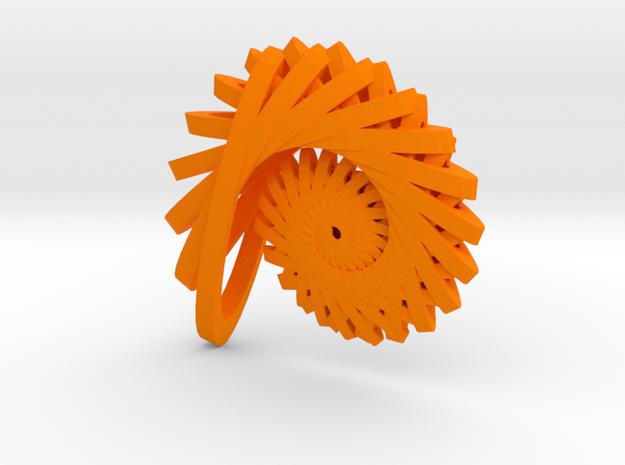 Nautilus 2 in Orange Processed Versatile Plastic