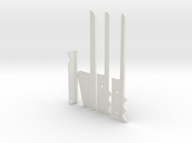 Sonic Beamweapon in White Natural Versatile Plastic