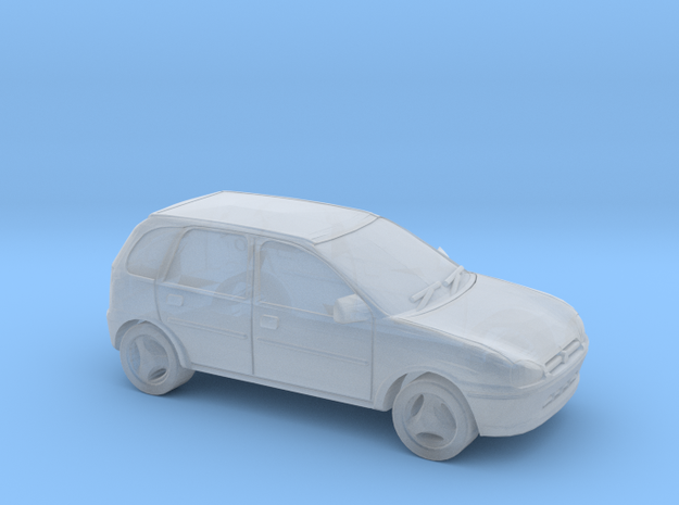 Vauxhall Corsa - 1/148 (British N) in Smooth Fine Detail Plastic