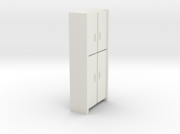 A 006 Cabinet HO in White Natural Versatile Plastic