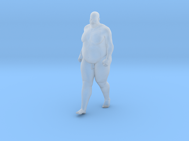 1/32 Fat Man 005 in Smooth Fine Detail Plastic