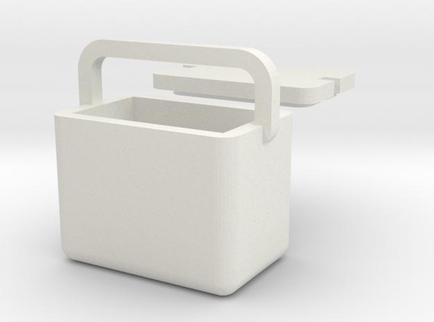 Cool Box 1/32 in White Natural Versatile Plastic