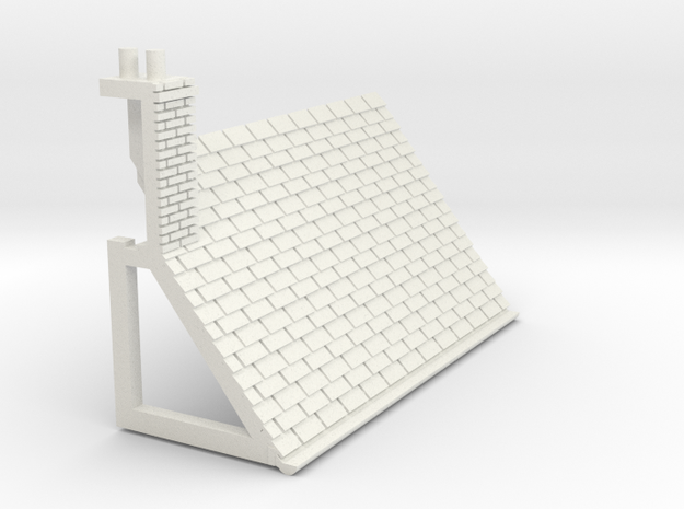 Z-152-lr-comp-l2r-level-roof-lc-lj in White Natural Versatile Plastic
