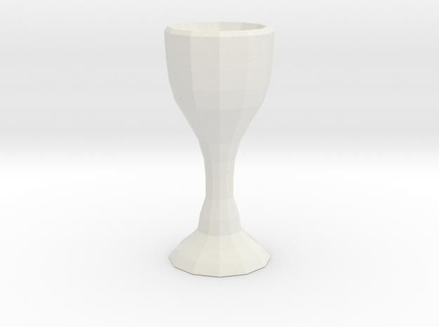 Classy Glass Exclusive Design in White Natural Versatile Plastic
