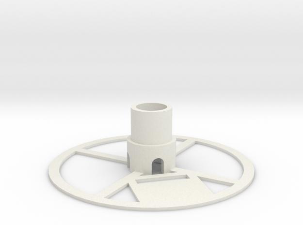 Gondola for hanging v plotter/polargraph in White Natural Versatile Plastic