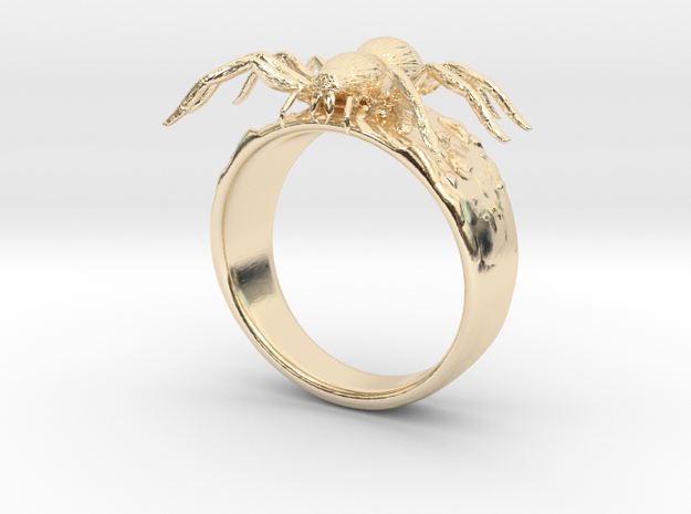 Spider Ring in 14k Gold Plated