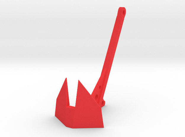 1/10 Scale Self recovery anchor in Red Processed Versatile Plastic