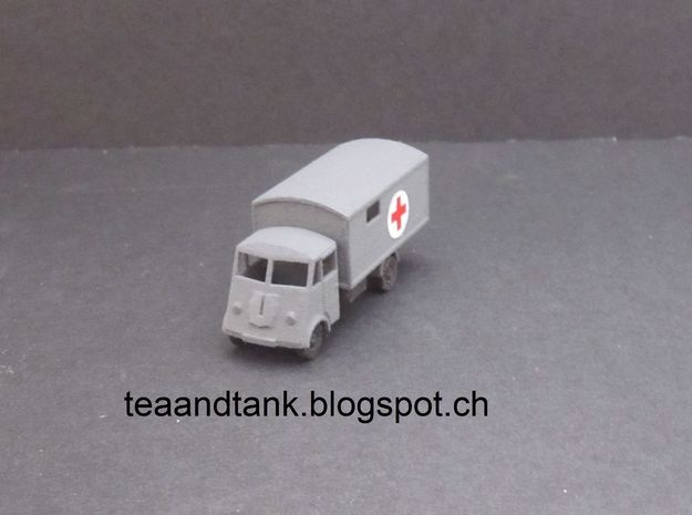 1/144 Renault AHN Ambulance  in White Strong & Flexible