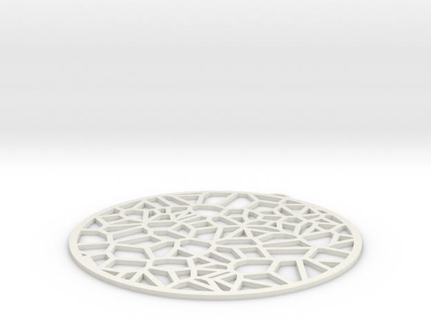 Oreillles Fracture in White Natural Versatile Plastic