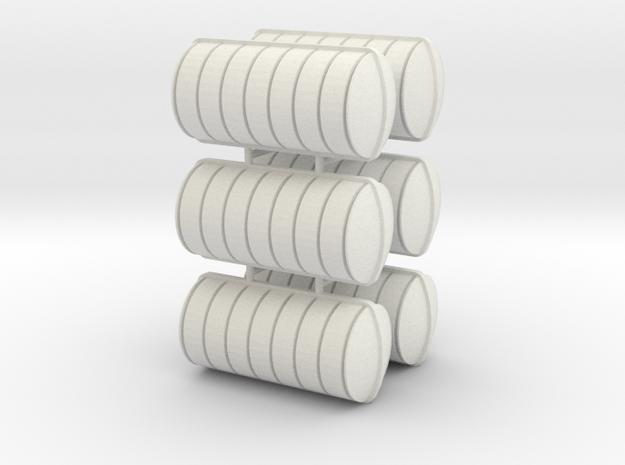Liferaft 28x13 in White Natural Versatile Plastic