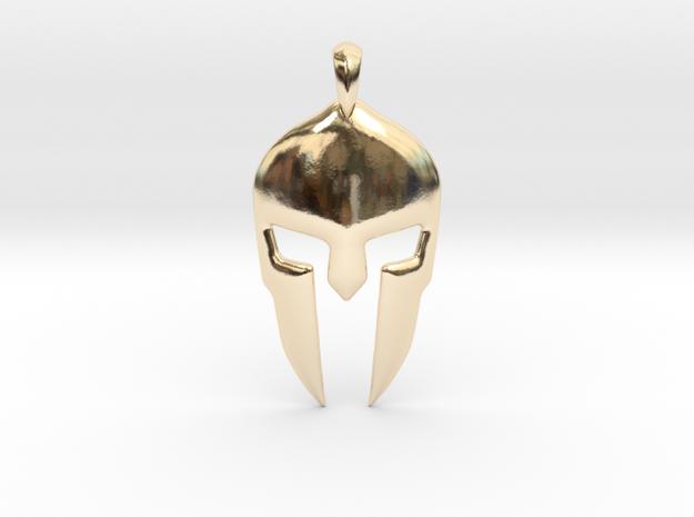 Spartan Helmet Jewelry Pendant