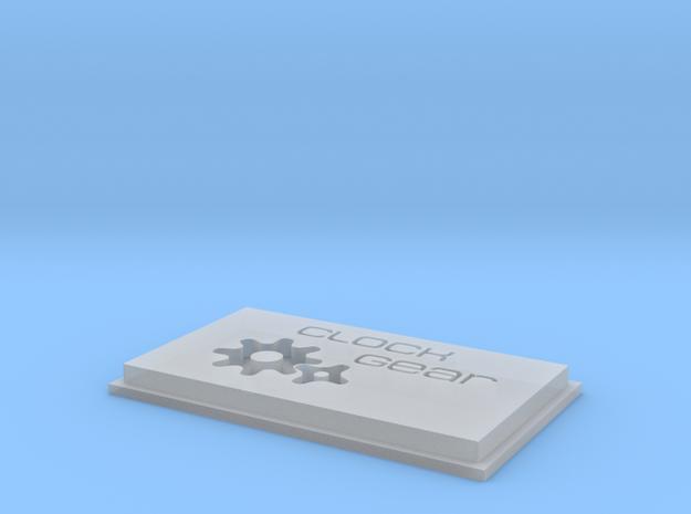 clock gear 3d printed
