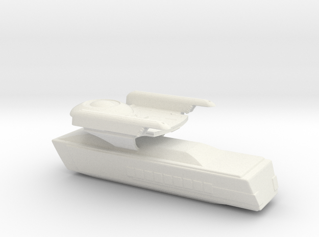 oberth class - angueira varient in White Natural Versatile Plastic