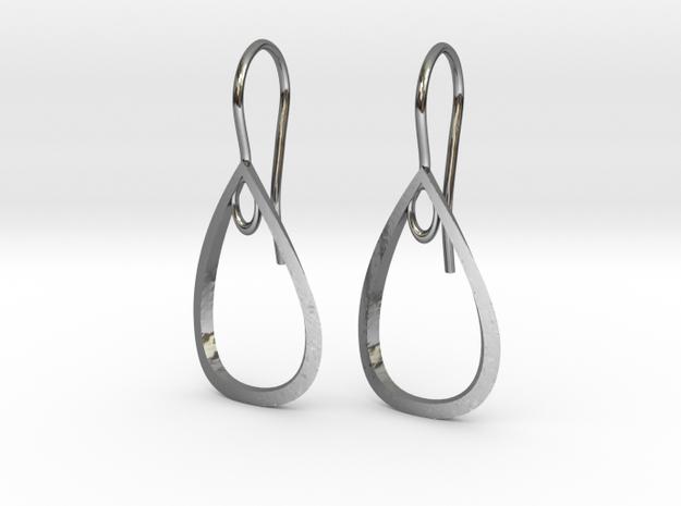 Curve Pear Earrings
